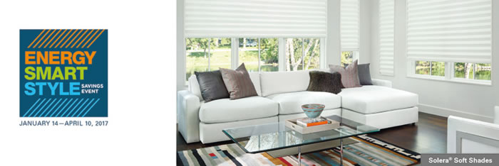 Emergy Smart Style Hunter Douglas Savingg Event