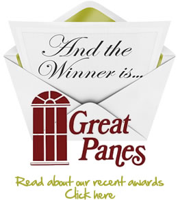 Great Panes - Winner of Awards at International Window Covering / Vision 12 ... Click here to read more